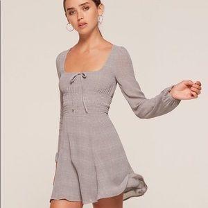 Reformation plaid dress size 2P